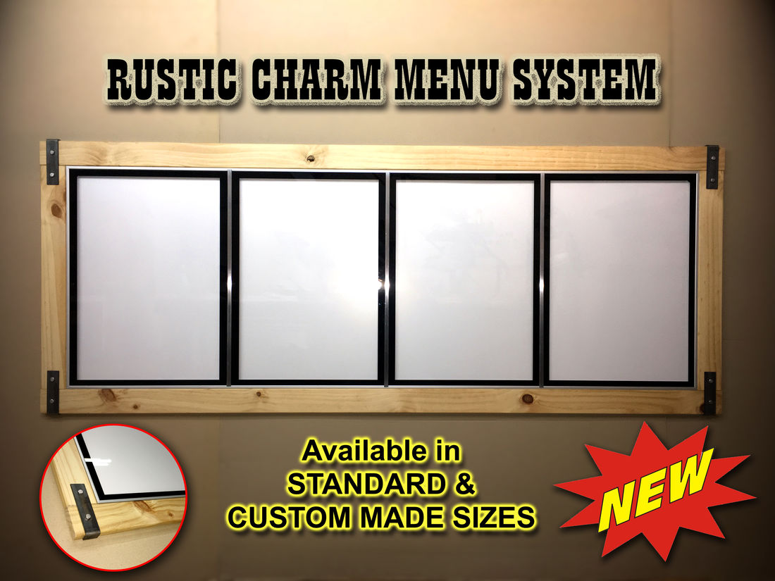 Rust Menu Board